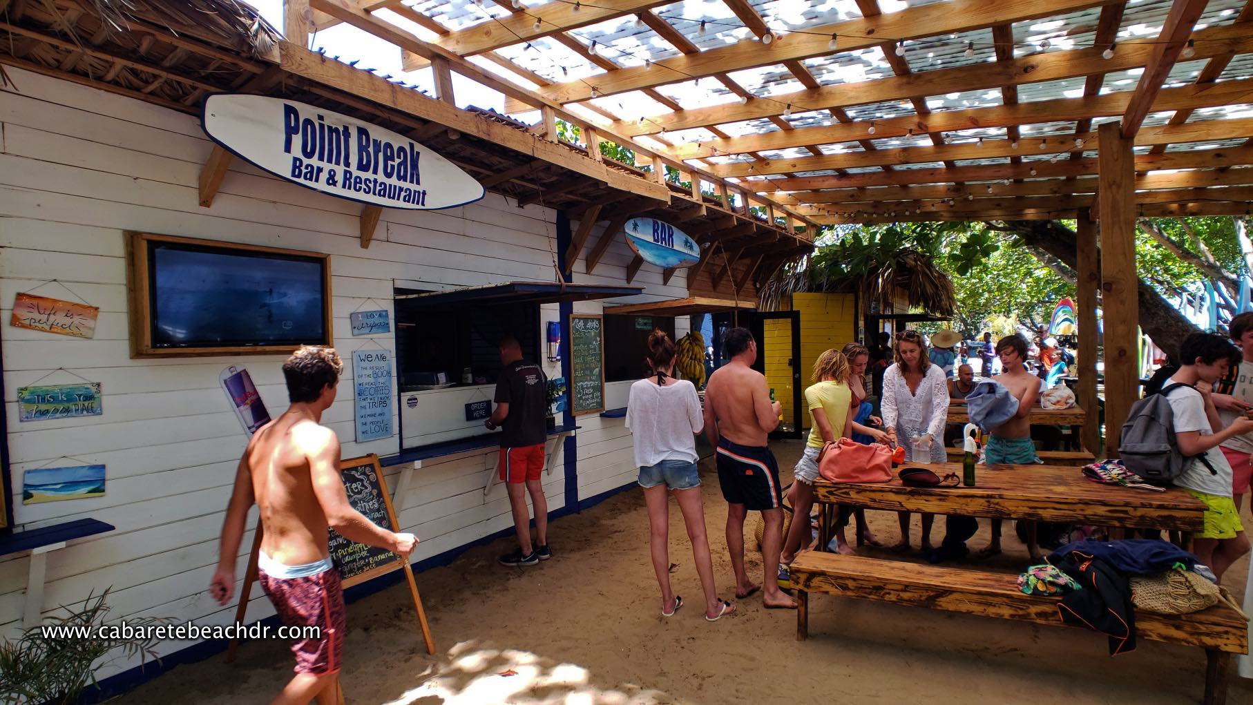 Point Break Cafe in Encuentro