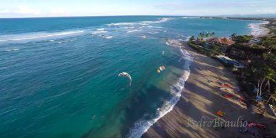 Kite beach aerial