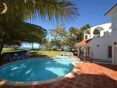 surfing beach villa in Encuentro Cabarete