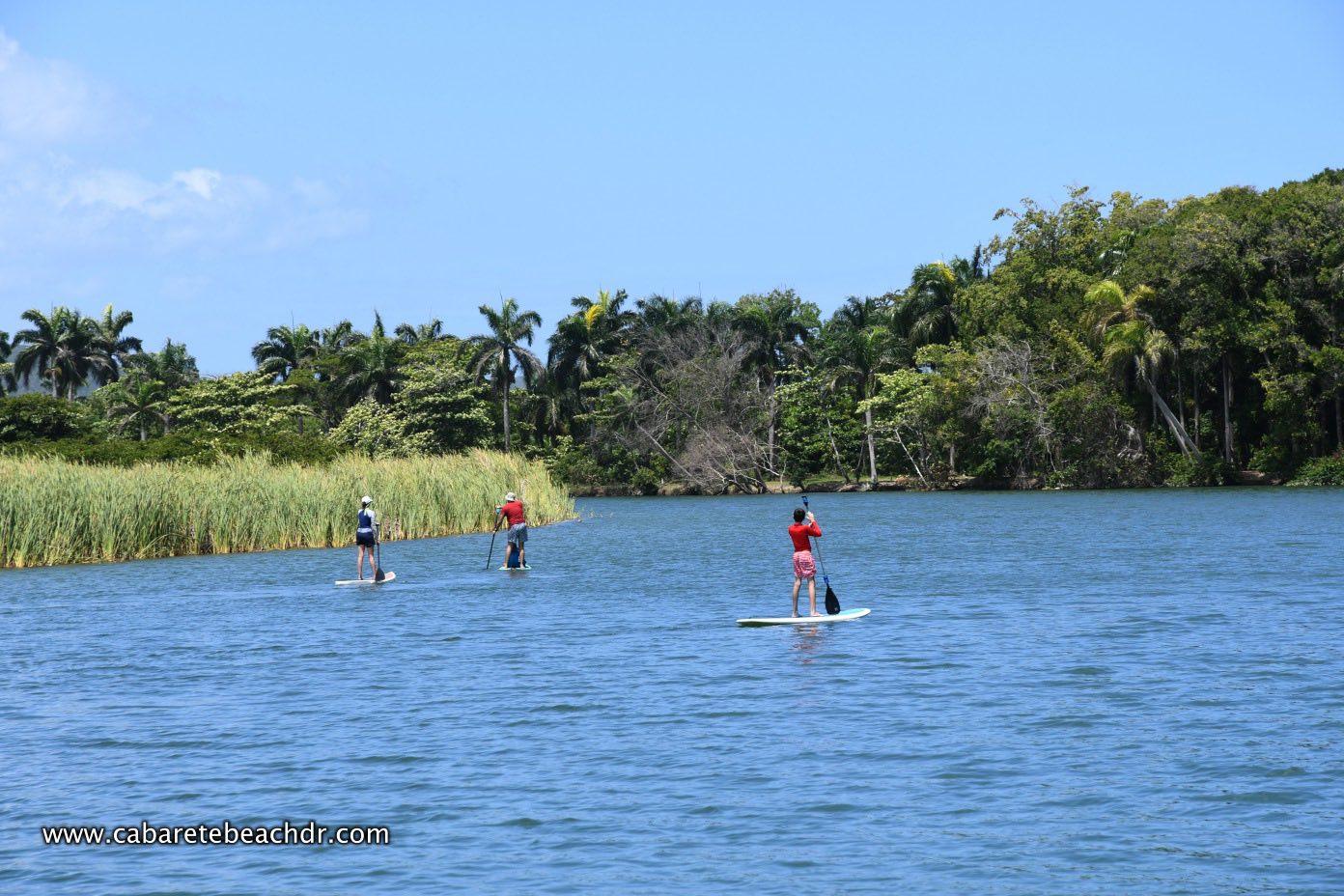 stand up paddle at La Boca Cabarete