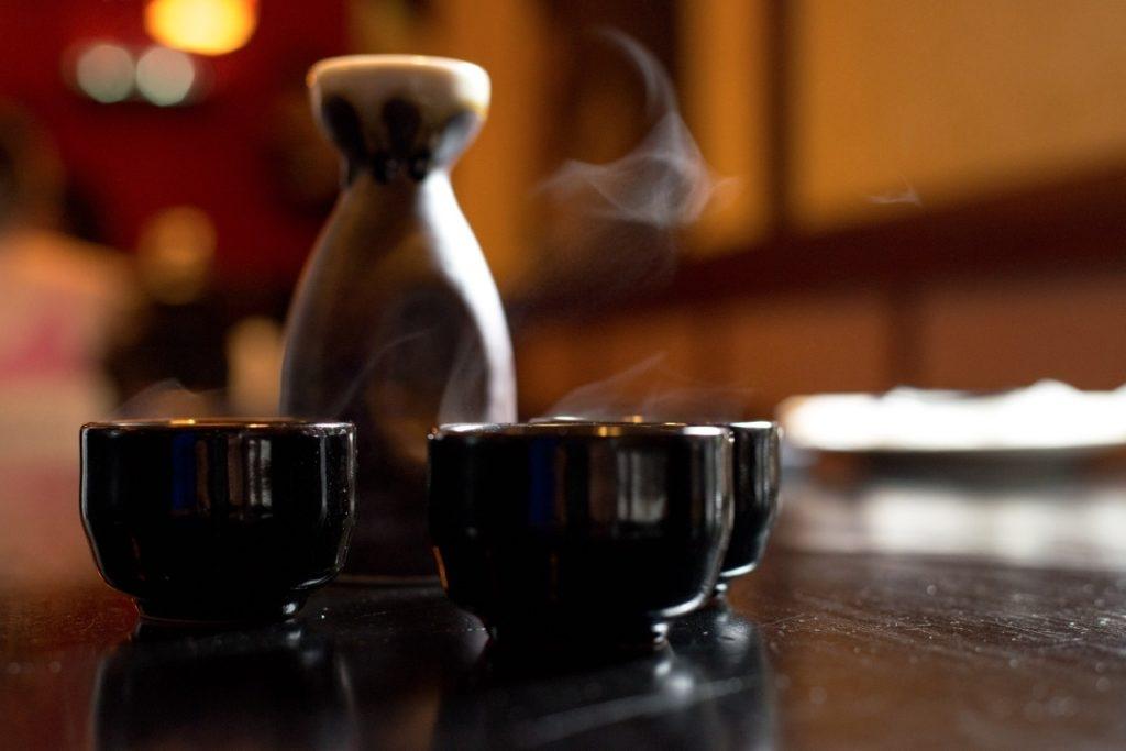Sake at Yamazato
