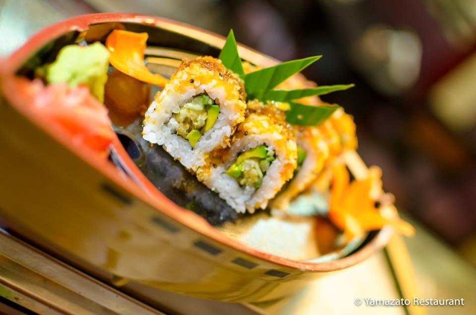 Canasta with Sushi at Cabarete Yamazato