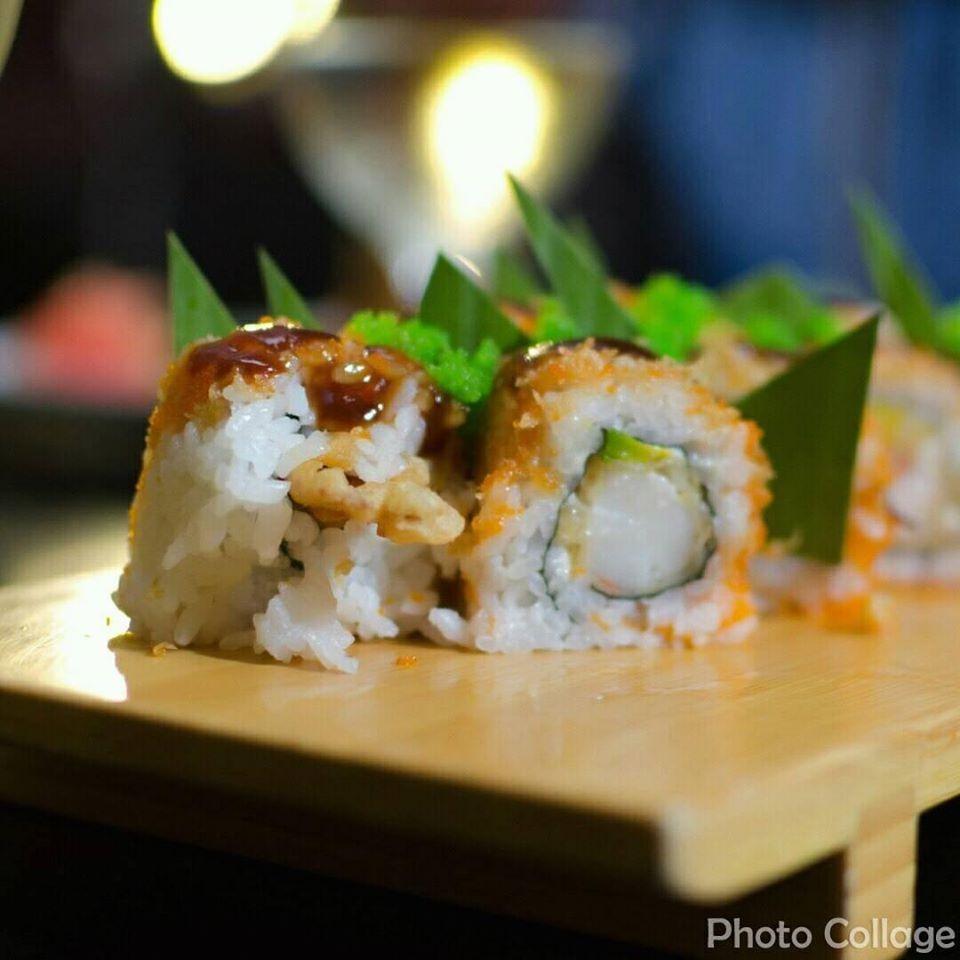 Delicious rolls at Yamazato