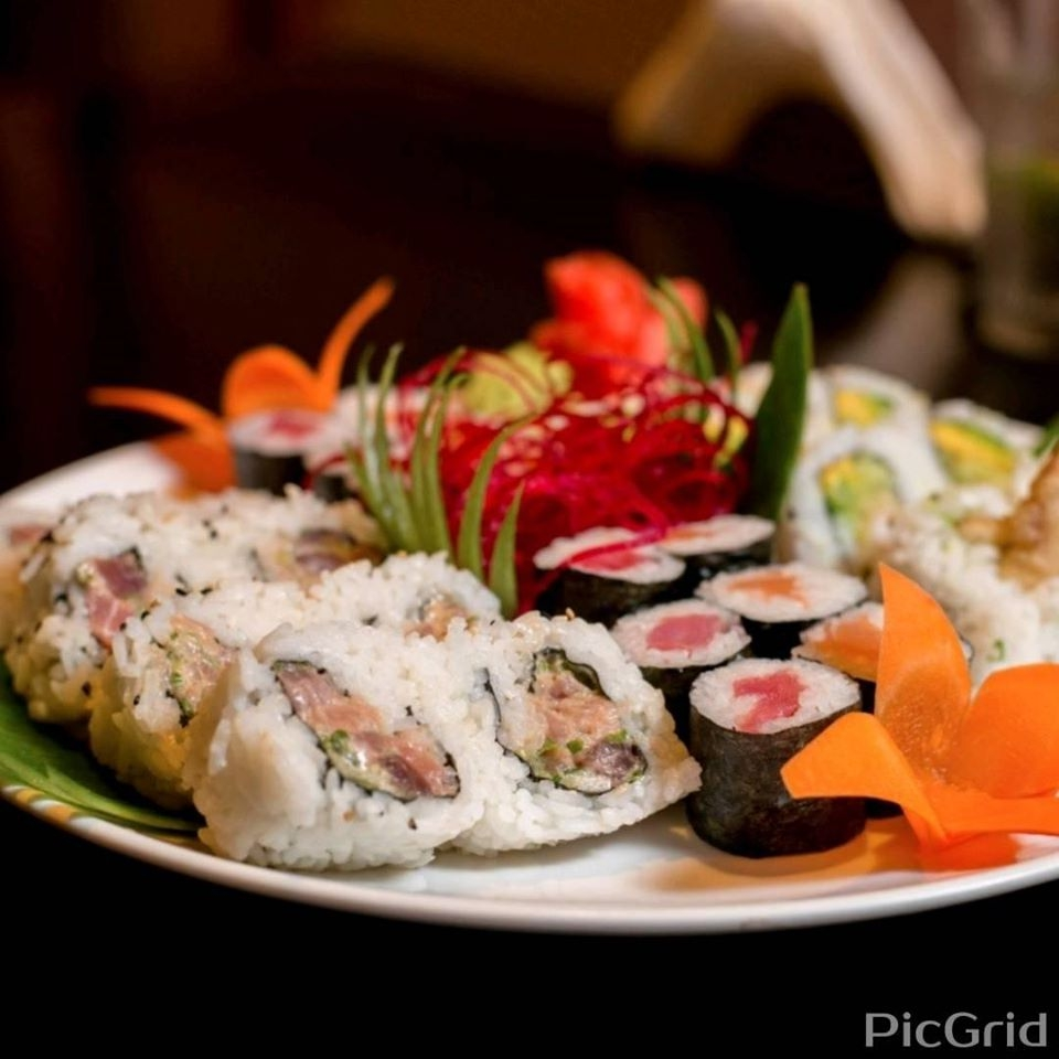 Rolls and Salmon