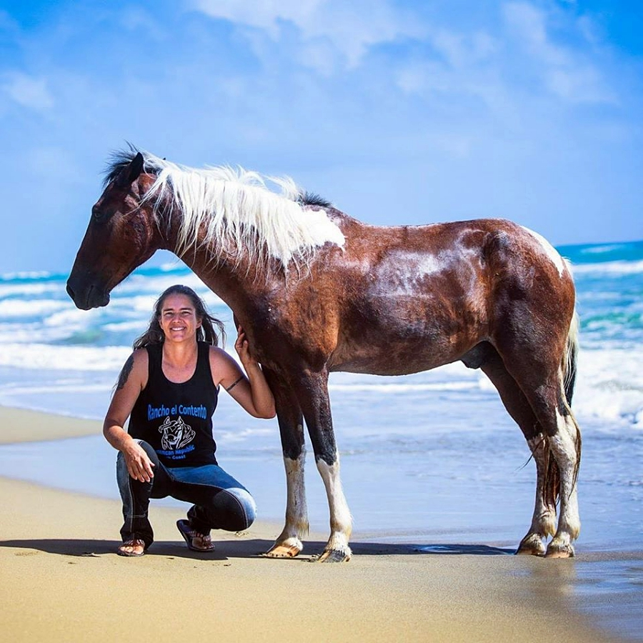 Ute and her horse