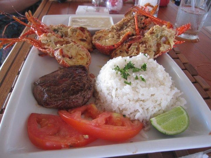 Lobster and fillet