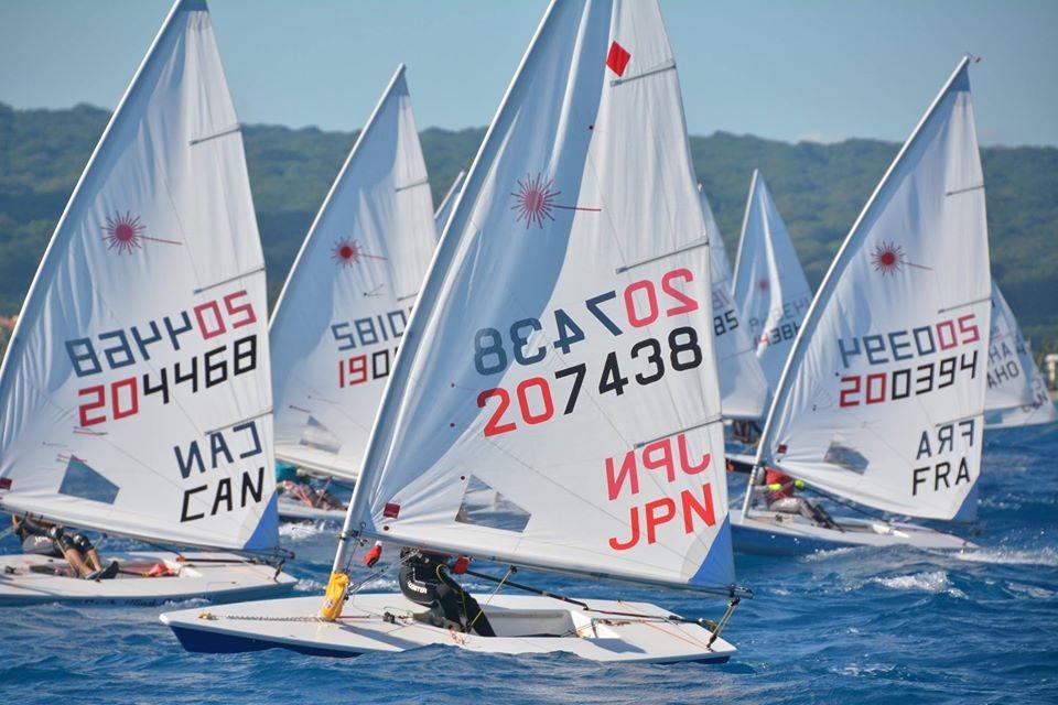 lasers sailing in Cabarete