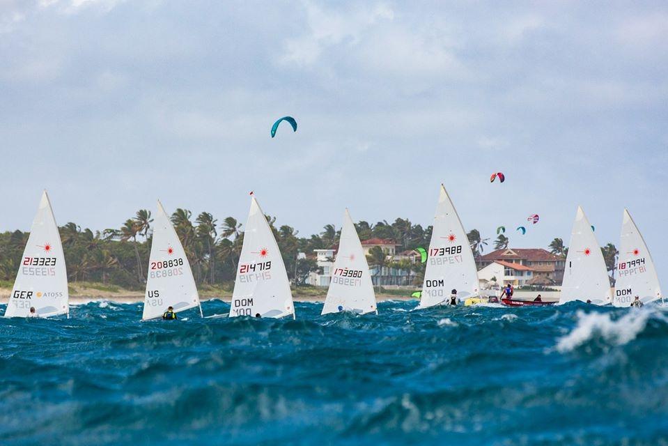 boats on the horizon