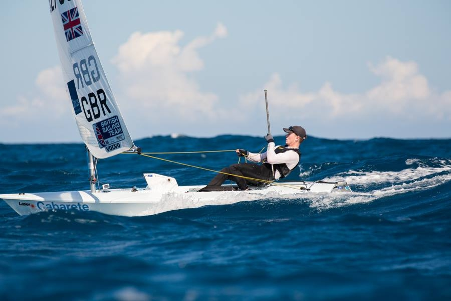 sailor in laser