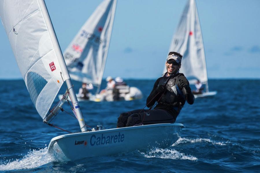 sailing Cabarete laser