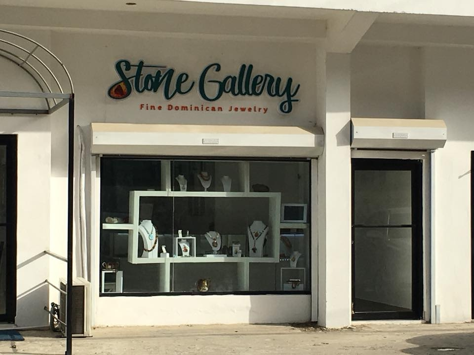 Stone gallery facade