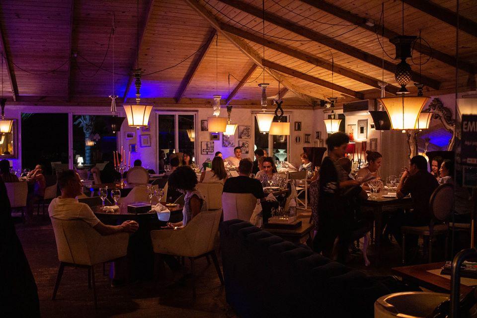 Inside Tuva Restaurant