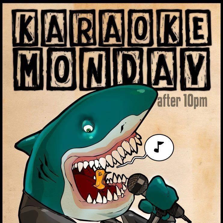 Karaoke Shark poster