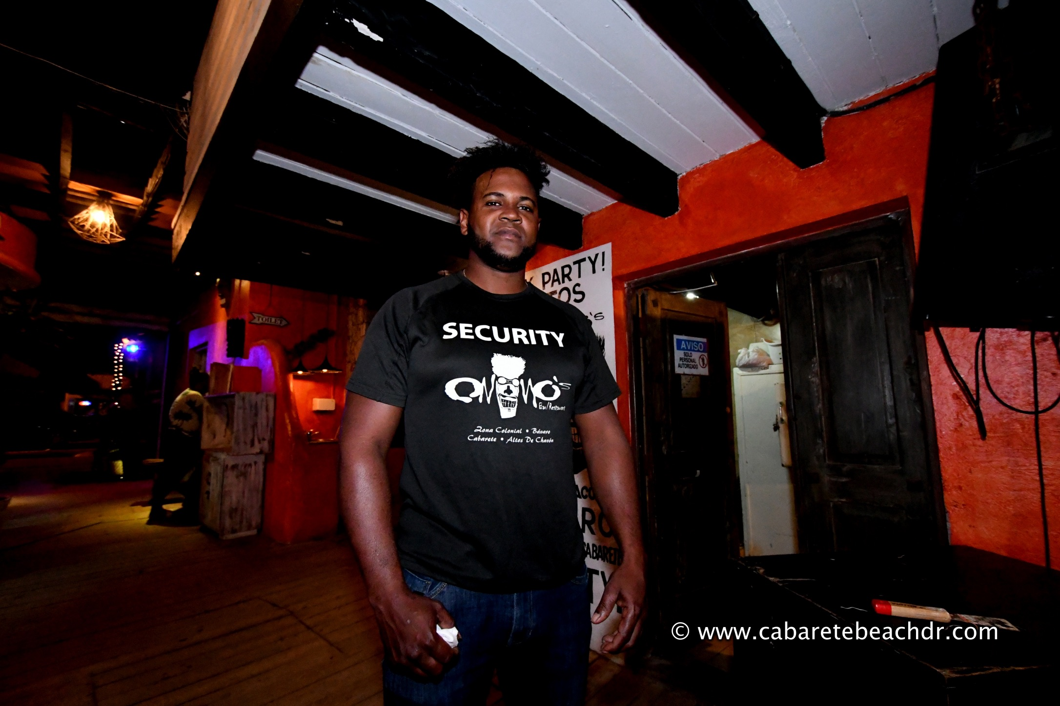 Security man at Onnos