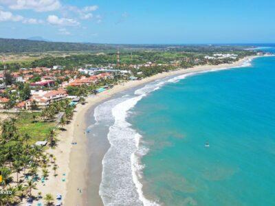 Cabarete Beach aerial